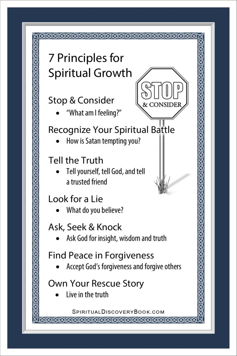 7 Principles for Spiritual Growth Artwork